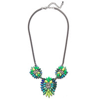 Neon Spiked Bloom Necklace