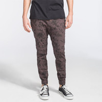 Lira Colonial Mens Jogger Pants Charcoal  In Sizes