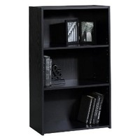 Room Essentials® 3 Shelf Bookcase - Black