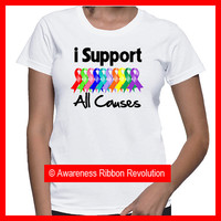 I Support Cancer All Causes Shirts