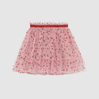 Gucci Children's glitter dots tulle skirt