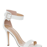 Giovanna Heels in White