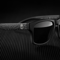 Cruiser Sunglasses: Black Asphalt Customs