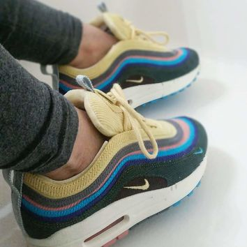 Nike Air Max 1/97 VF AJ Hybrid Retro Sport Shoes Casual Sneakers