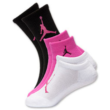 Kids' Jordan Waterfall 3-Pack Socks