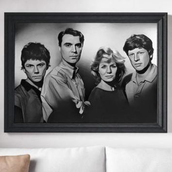 The Talking Heads Poster Art Painting Print Canvas