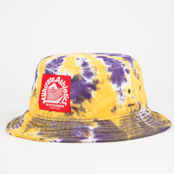 Milkcrate Athletics La Mens Bucket Hat Purple Combo One Size For Men 25341976601