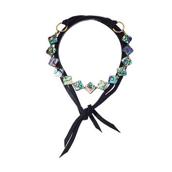 Vanessa Mooney The Omaha Necklace Black - Zappos.com Free Shipping BOTH Ways