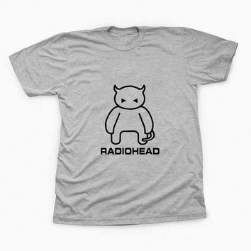 radiohead TShirt Tee Shirts For Men and women with variant color for Unisex Size