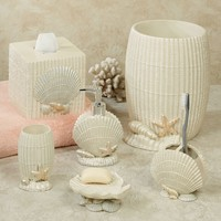 Current Coastal Seashell Bath Accessories