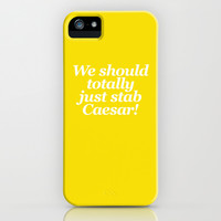 Mean Girls #5 – Caesar iPhone & iPod Case by Enyalie