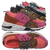 Galaxy01K Kids Unisex Multicolor Trainer - Children Color Paneled Chunky Sneaker