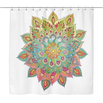 Shower Curtain - Mandalas Design 2
