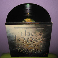 Vinyl Record Album The Lord of the Rings Original Soundtrack Double LP 1978 Tolkien Animated Classic