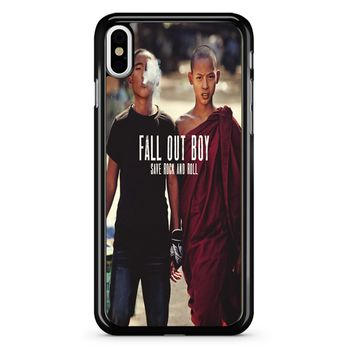 Fall Out Boy Save Rock And Roll iPhone X Case