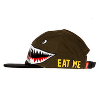 Tiger Shark 5 Panel Hat