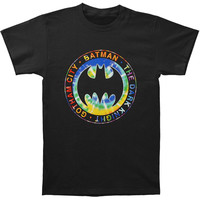 Batman Men's  Gotham City T-shirt Black Rockabilia