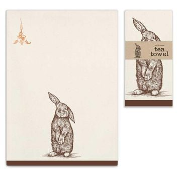 Bunny Tea Towels - Set of 4