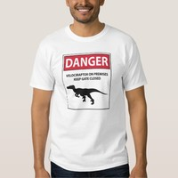 Danger Sign (Raptors) Shirt
