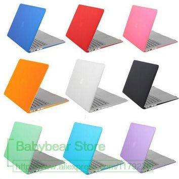 Pure color Crystal Laptop Hard Case For Apple Macbook Pro15 2011 Pro 15 2012 A1286 Protector for old Macbook Pro 15 inch