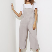 Symmetry Pocket Front Wide Leg JumpsuitFor Women-romwe