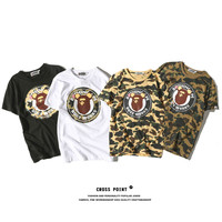 Ape-man short-sleeved fashion couple [10361250183]