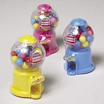 Dd Dubble Bubble Gumball Dispenser Candy Display(Pack Of 72)