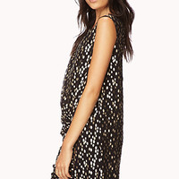 Soiree Metallic Dot Dress