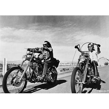 Easy Rider poster Metal Sign Wall Art 8in x 12in