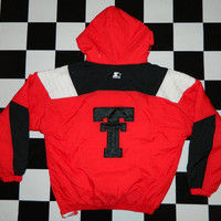 Vintage University of Texas Tech University Starter Jacket.