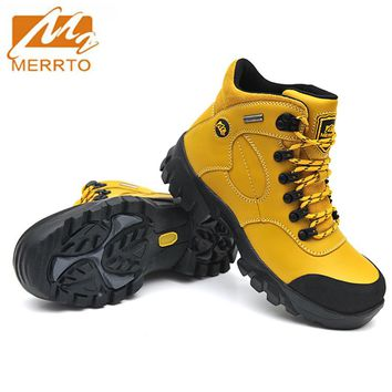 MERRTO Brand Hiking Shoes For Woman Waterproof Outdoor Hiking Sport Trekking Climbing Stability Anti-slip Shoes #18001