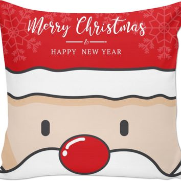 ROCP Santa Couch Pillow