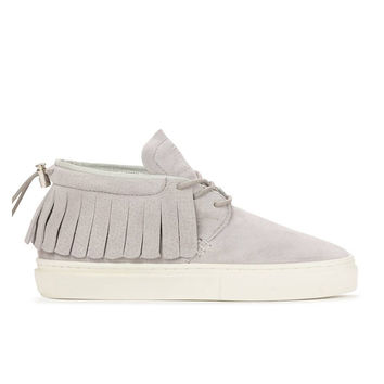 Clear Weather - The One-O-One - Vapor Grey Pig Suede
