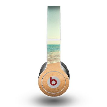 The Vintage Beach Scene Skin for the Beats by Dre Original Solo-Solo HD Headphones