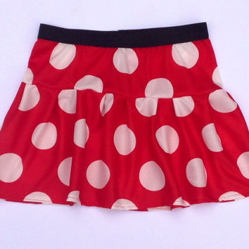 Minnie (no ruffle) Athletic Skirt