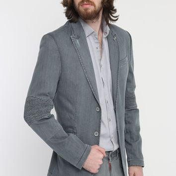 Add More Images #5519 Moto Cross Peak Lapel Jacket - More Colors