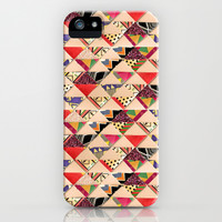 Bright Collage iPhone & iPod Case by Louise Machado