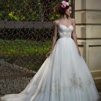 Casablanca Bridal 2077 Tulle Wedding Dress