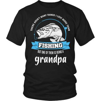 """This Grandpa Loves Fishing"" T-Shirt"