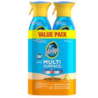 Pledge Multi Surface Antibacterial Everyday Cleaner Spray, 9.7 oz, 2 pk - Walmart.com