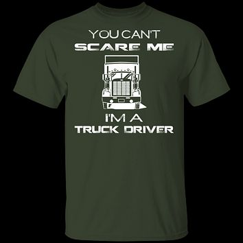 Can't Scare Truck Drivers T-Shirt