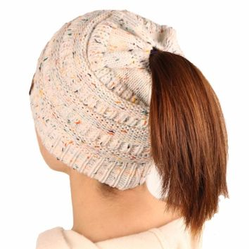 Hats For Women Crochet Knit Cap Skullies