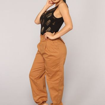 Do It Myself Cargo Pants - Camel