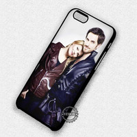 Couple Movie Captain Hook Emma Once Upon A Time - iPhone 7 6 5 SE Cases & Covers