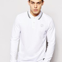 Jack & Jones | Jack & Jones Long Sleeve Polo at ASOS