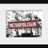 Paris print vintage french signboard in Paris wall decor fine art photography Paris photography art deco metropolitain 4x6 5x7 6x8 8x10