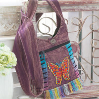Vintage Fringe Crossbody Bags Women's Clothes Accessories