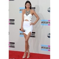 Keepsake Flashback Skirt in Ivory as seen on Kendall Jenner