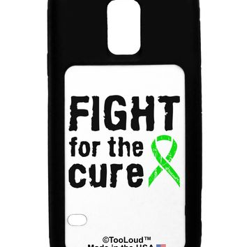 Fight for the Cure - Lime Green Ribbon Lyme Disease Galaxy S5 Case  by TooLoud
