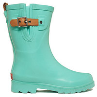 Chooka Women's Top Solid Mid Rain Boots